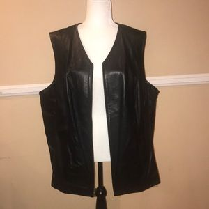 Caslon Leather Vest